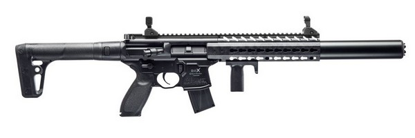SIG SAUER MCX .177 30RD AIR RIFLE 4.5MM BLACK